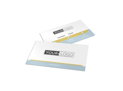 Fun Family Photography Business Card Template