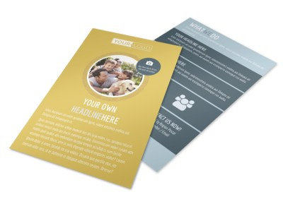 Fun Family Photography Flyer Template