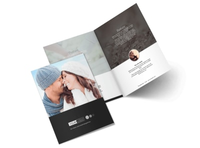 Engagement Photography Bi-Fold Brochure Template preview