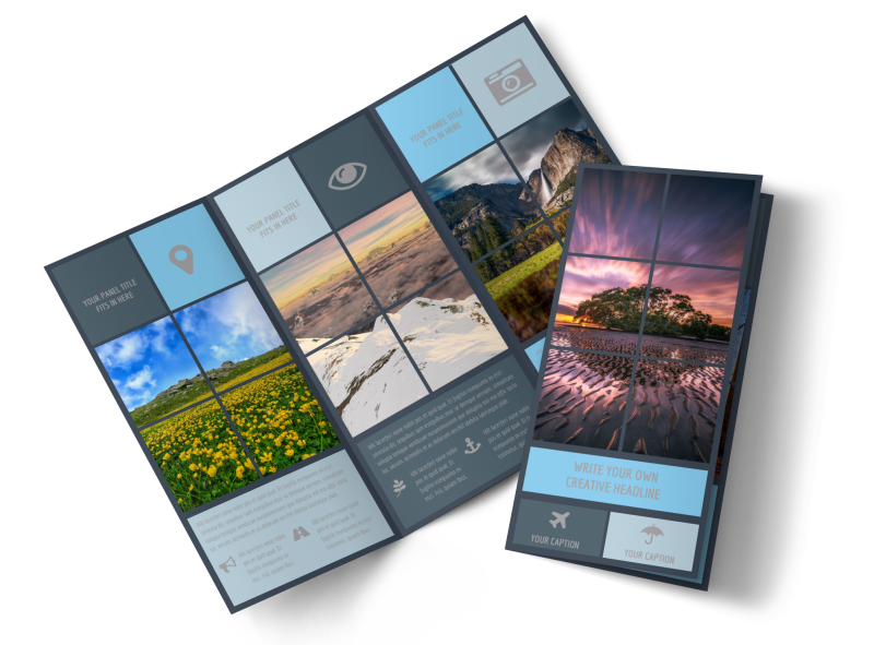 Beautiful Landscape Photography Brochure Template Preview 1