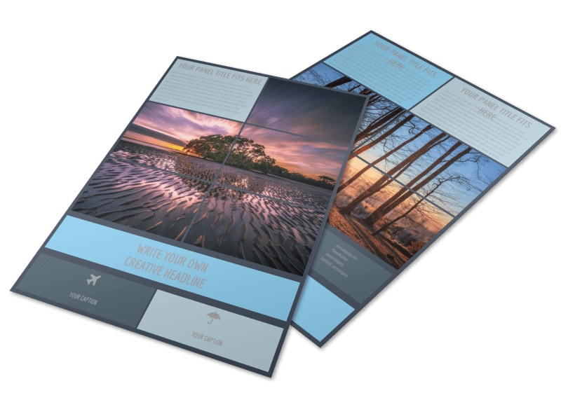 Beautiful Landscape Photography Flyer Template Preview 4
