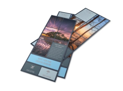 Beautiful Landscape Photography Flyer Template preview