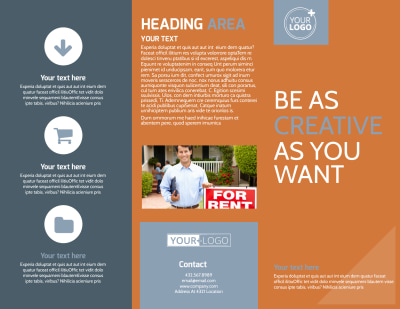 Rental Property Management Brochure Template Preview 1