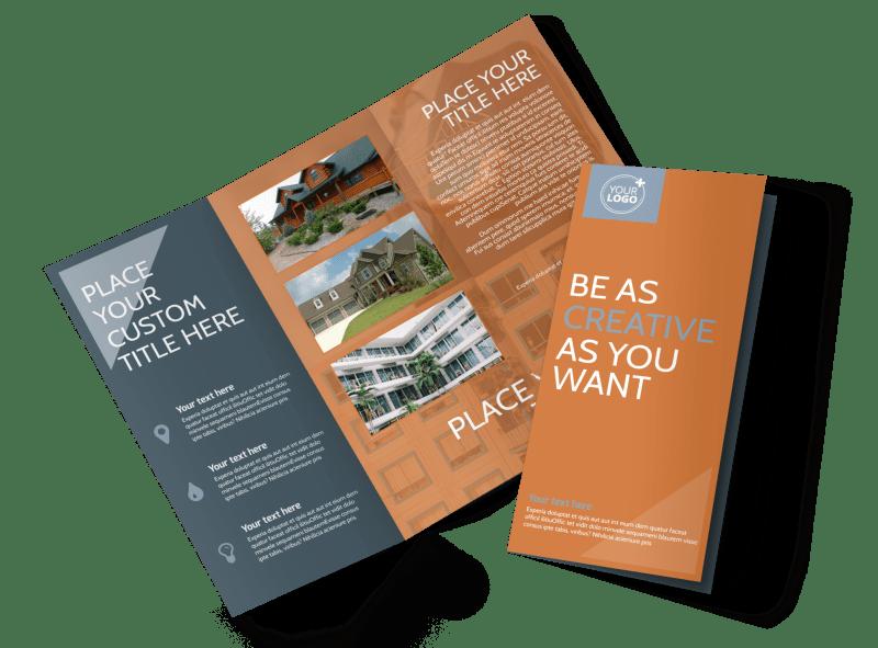 Rental Property Management Tri-Fold Brochure Template