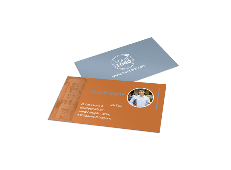 Rental Property Management Business Card Template
