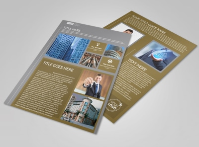 Commercial Property Management Flyer Template