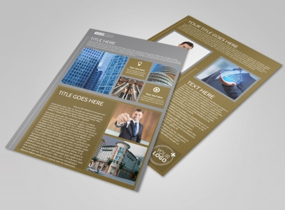 Commercial Property Management Flyer Template preview
