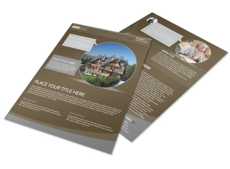 Premier Real Estate Flyer Template