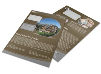 Premier Real Estate Flyer Template preview