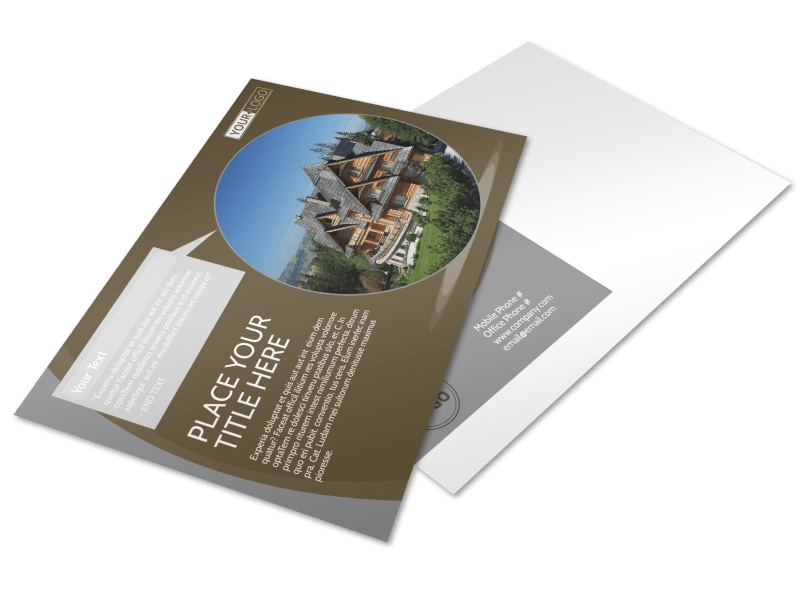 Premier Real Estate Postcard Template