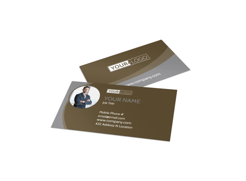 premier real estate business card template - Real Estate Business Card