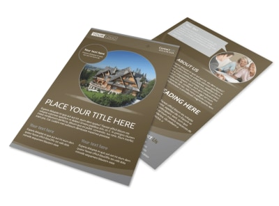 Premier Real Estate Flyer Template
