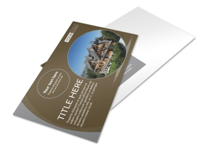 Premier Real Estate Postcard Template preview