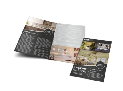 Elegant Villa Rental Brochure Template MyCreativeShop - Elegant brochure templates