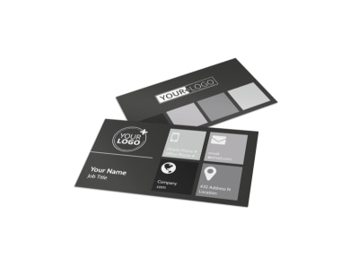 Elegant Villa Rental Business Card Template