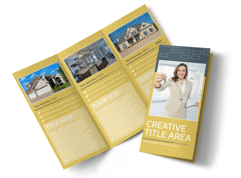 Real Estate Team Tri-Fold Brochure Template