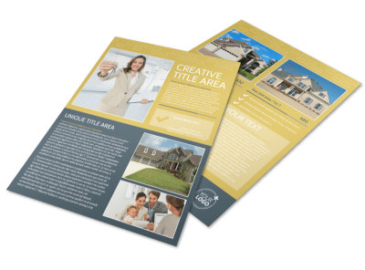 Real Estate Team Flyer Template