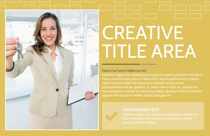 Real Estate Team Postcard Template Preview 2