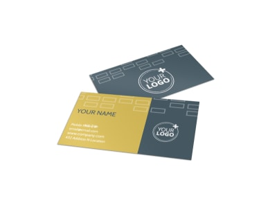 Real Estate Team Business Card Template