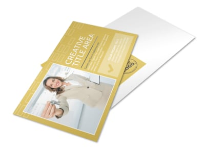 Real Estate Team Postcard Template