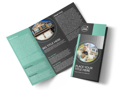 Licensed Real Estate Agents Tri-Fold Brochure Template