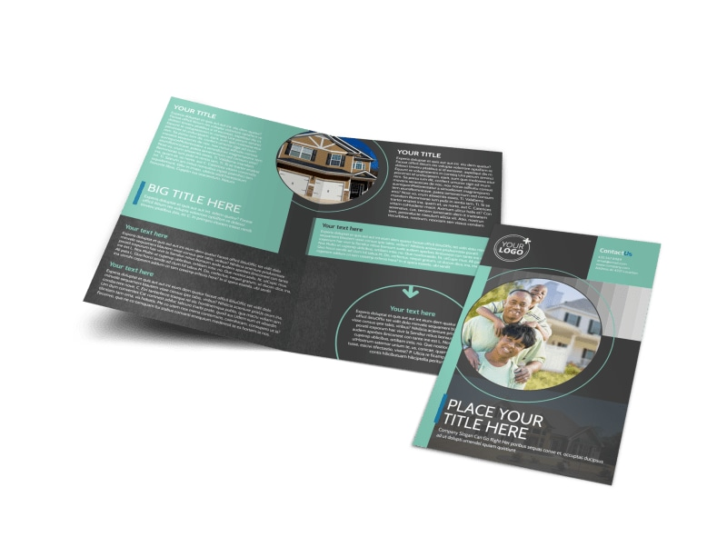 Licensed Real Estate Agents Brochure Template Preview 4