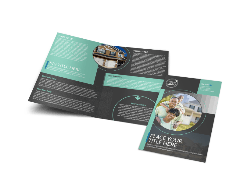 Licensed Real Estate Agents Brochure Template Preview 1