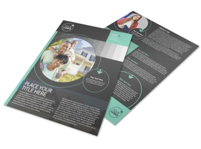 Licensed Real Estate Agents Flyer Template preview