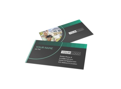Licensed Real Estate Agents Business Card Template