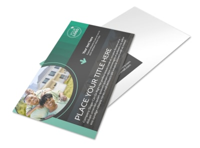 Licensed Real Estate Agents Postcard Template preview