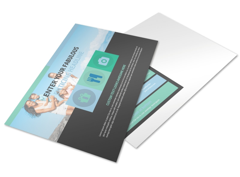 Vacation Rentals Postcard Template Preview 4