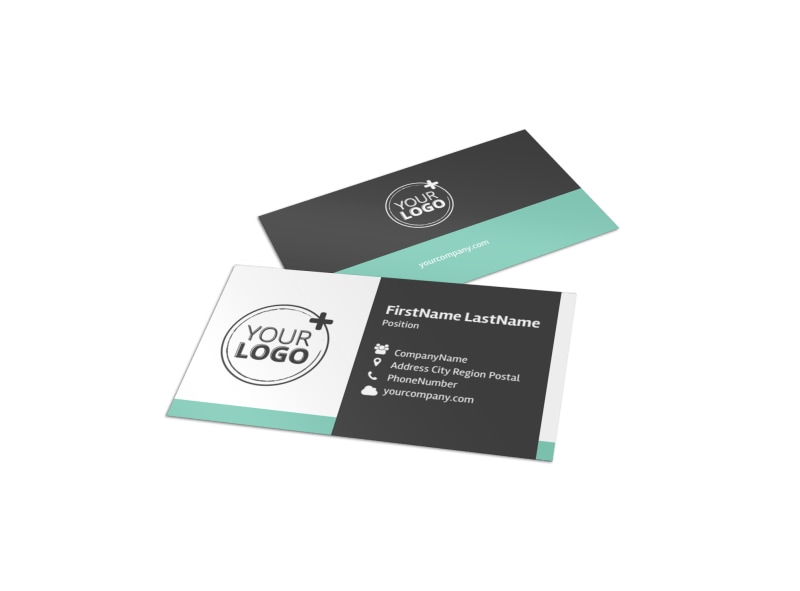 Vacation Rentals Business Card Template Preview 4