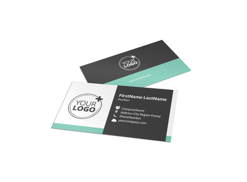 Vacation Rentals Business Card Template Preview 1