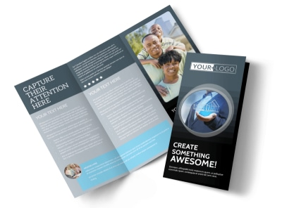 Elite Real Estate Team Tri-Fold Brochure Template