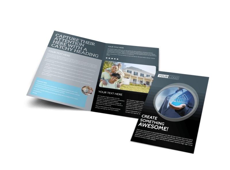 Elite Real Estate Team Bi-Fold Brochure Template