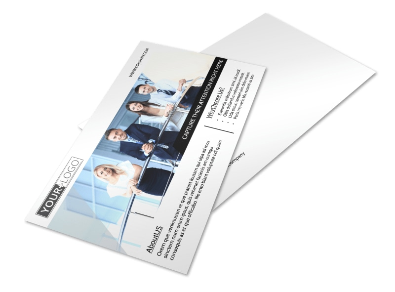 Elite Real Estate Team Postcard Template