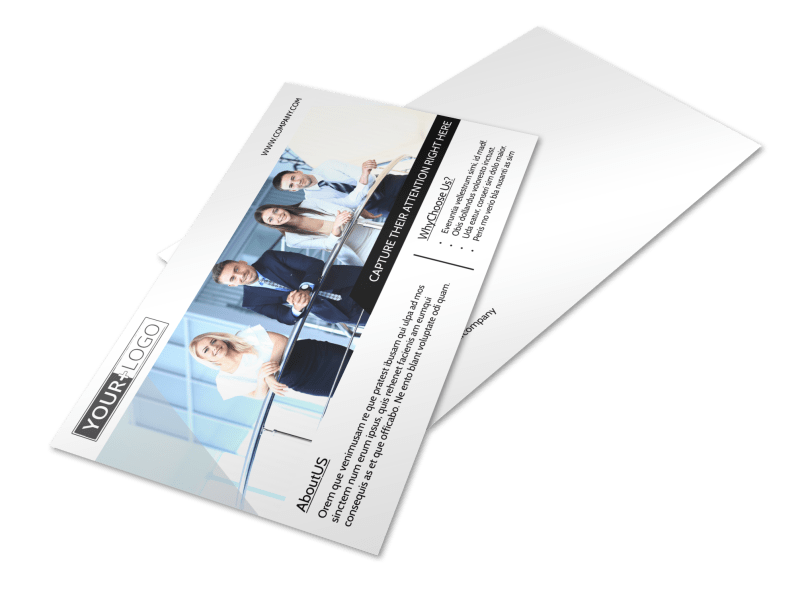 Elite Real Estate Team Postcard Template Preview 1