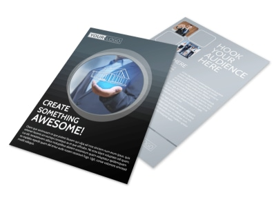 Elite Real Estate Team Flyer Template preview
