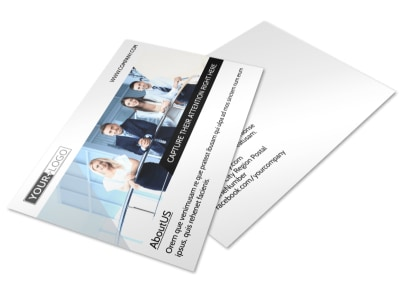 Elite Real Estate Team Postcard Template