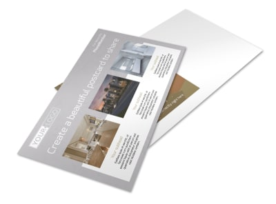 Apartment Complex Postcard Template