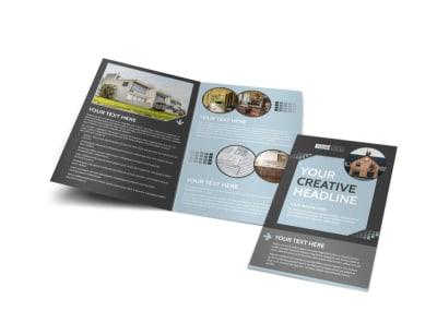 Townhome Rentals Bi-Fold Brochure Template