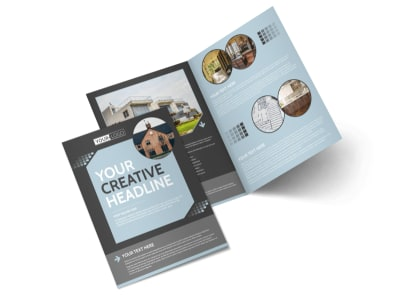 Townhome Rentals Bi-Fold Brochure Template preview
