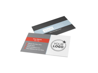 Townhome Rentals Business Card Template preview