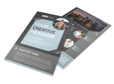 Townhome Rentals Flyer Template