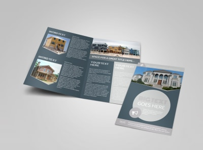 Property Management Specialists Bi-Fold Brochure Template