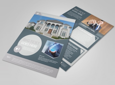 Property Management Specialists Flyer Template