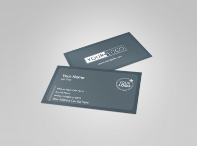 Property Management Specialists Business Card Template preview