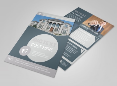 Property Management Specialists Flyer Template preview
