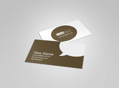 Modern Townhome Rentals Business Card Template preview