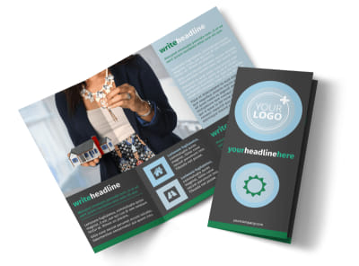 Good Real Estate Agent Tri-Fold Brochure Template